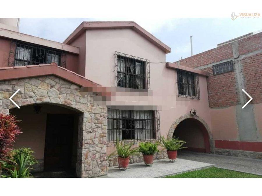 venta de casa en trujillo 402 m2 barrio medico