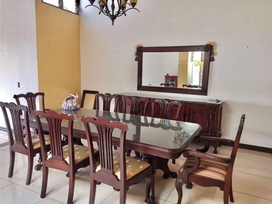 en residencial venta de casa independiente en rio oro de santa ana