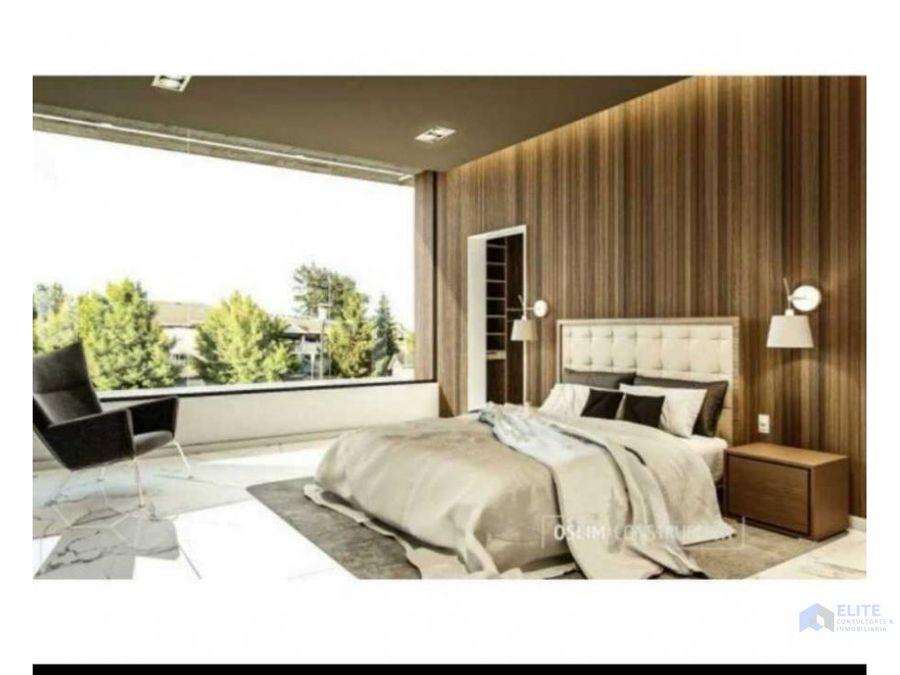 venta de casa mitica residencial santiago