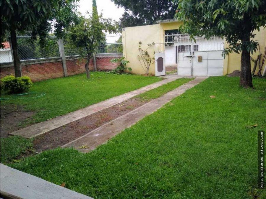 venta de casa sola en con jardin en cuatla morelos