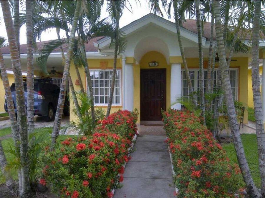 venta de casa palma real la ceiba