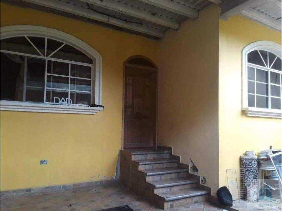 venta de casa residencial santa cruz