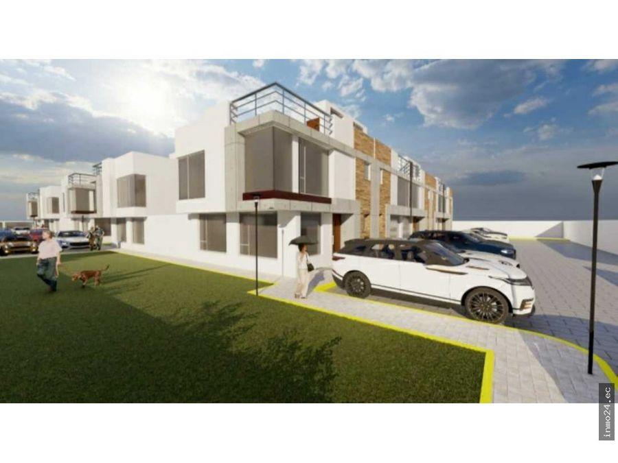 venta de casa vip en conjunto sector norte llano grande quito