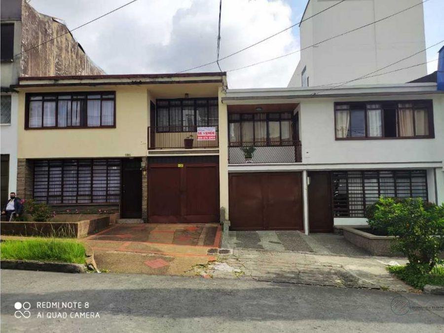 venta de dos casas sector parque fundadores