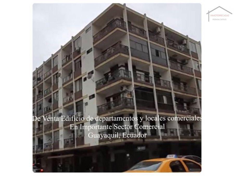 venta de edificio cdepartamento guayaquil propiedad rentera