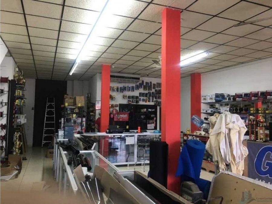 venta de edificio comercial en calle 5ta david