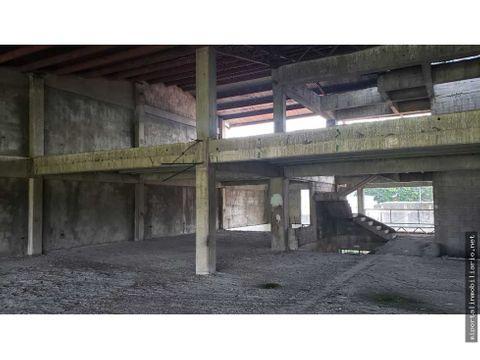 venta de edificio en obra gris