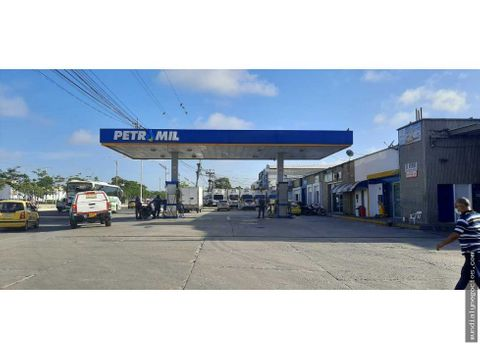 venta de estacion de gasolina y locales en la calle 30