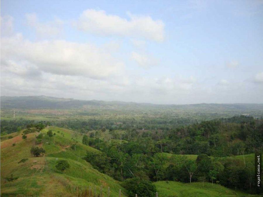 venta de finca ecoturistica en el alto sinu