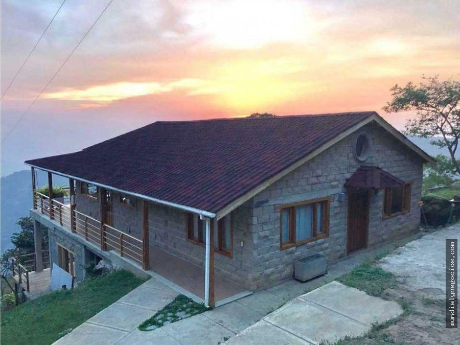 venta de hermosa casa campestre amoblada en minca santa marta