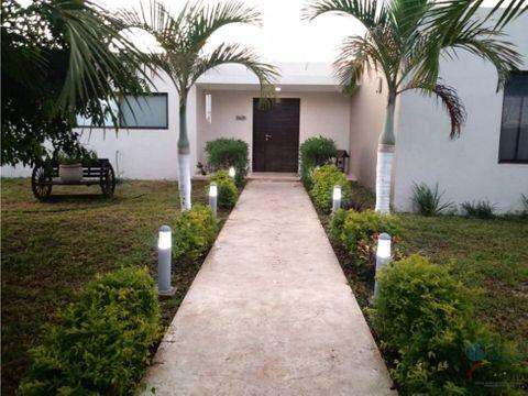 venta de hermosa casa en conkal