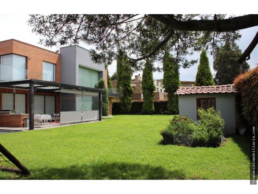 venta de hermosa casa en hacienda san sebastian via guaymaral