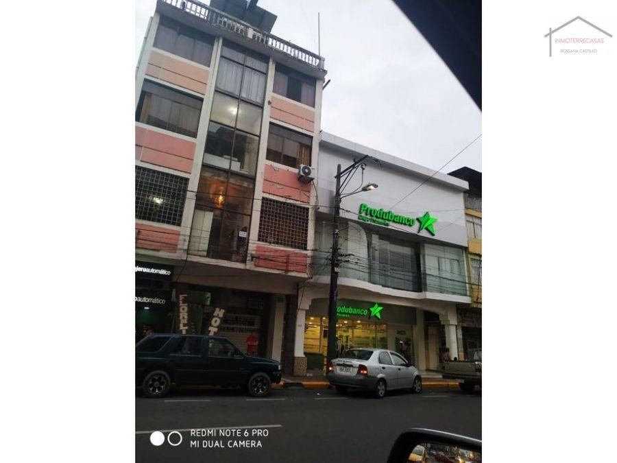 venta de hotel en quevedo ecuador propiedad rentera