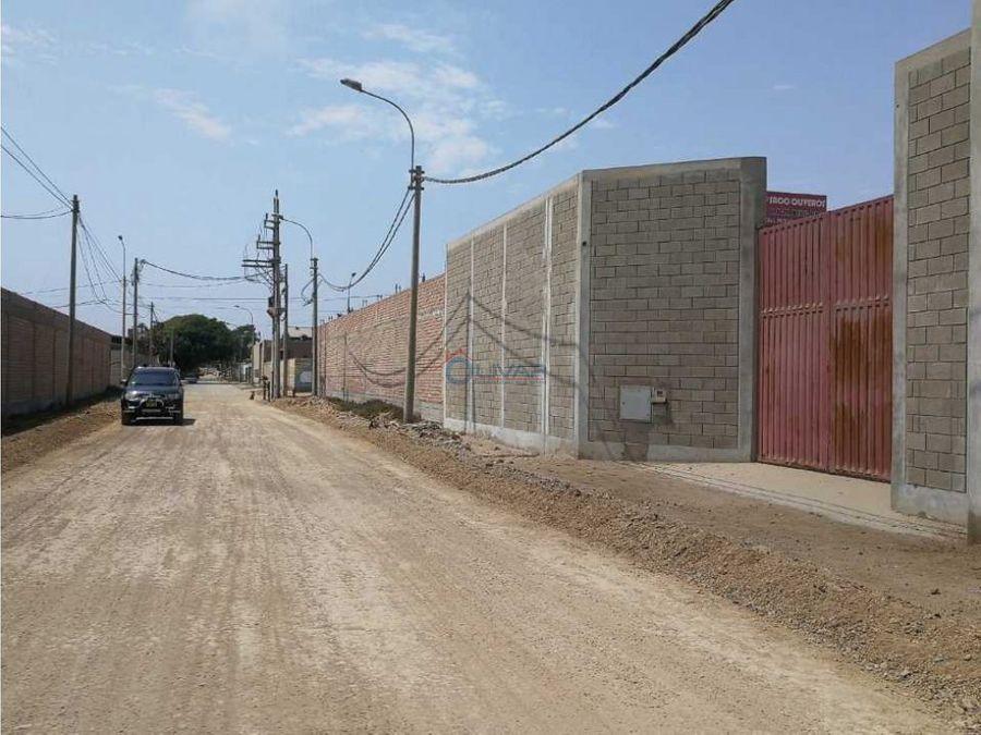 venta de local industrial i 1 de 1000 m2 lurin