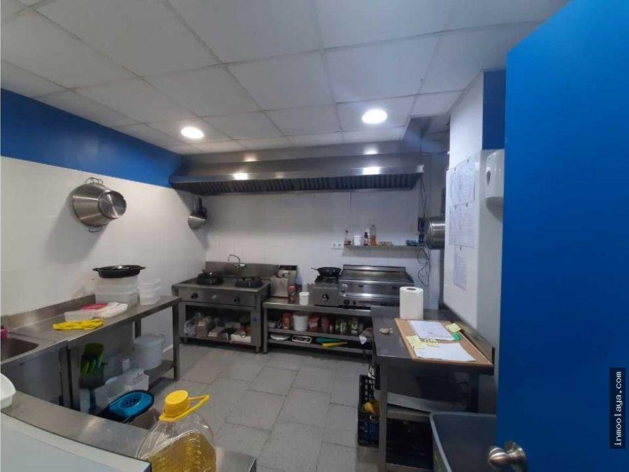 venta de local licencia a61 de platos preparados en sant andreu