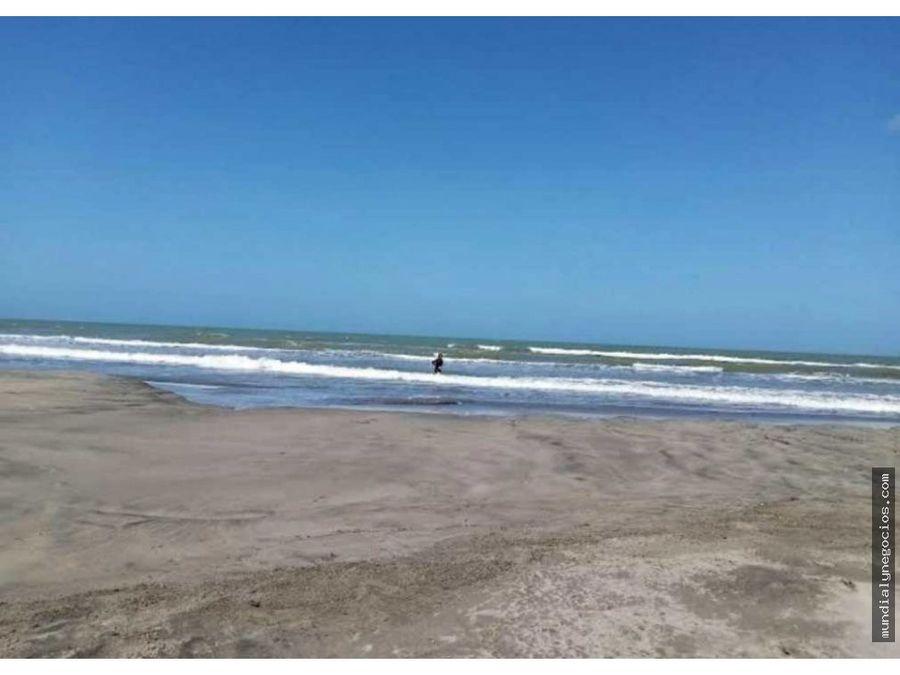 venta de lote en condominio en islarena bolivar frente al mar