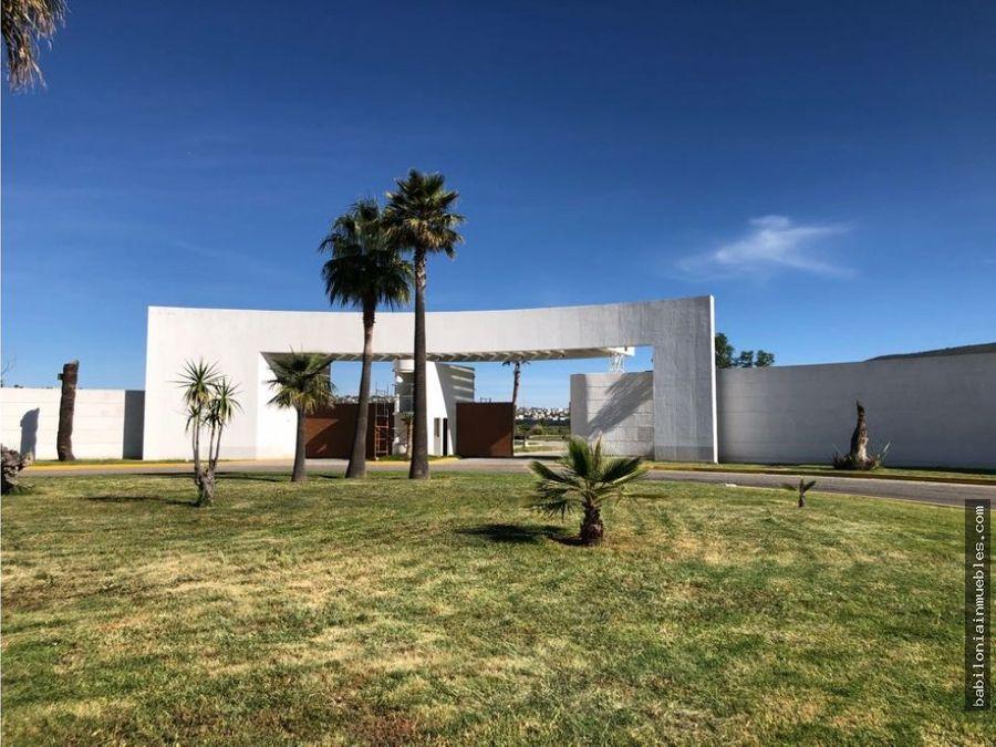 venta de lotes residenciales fracc reencuentro residencial pachuca z
