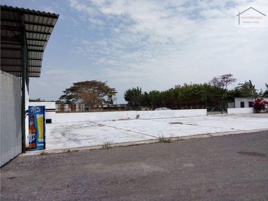 venta de terreno en chongon cuscos comercial residencial