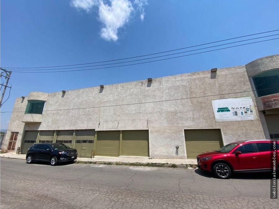 venta de plaza comercial tulancingo hgo