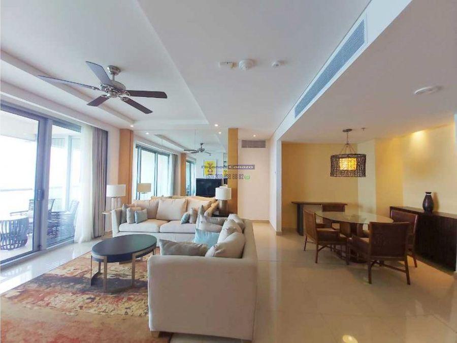 venta de residencia hotelera de 2 habitaciones en hyatt cartagena