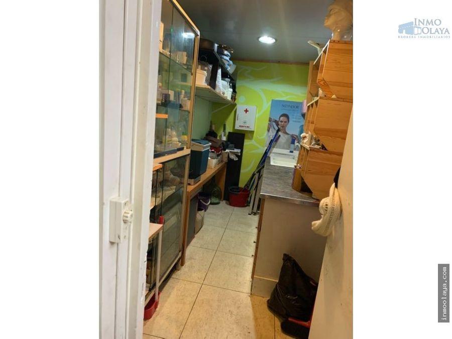 venta de local licencia de salon de estetica en lhospitalet