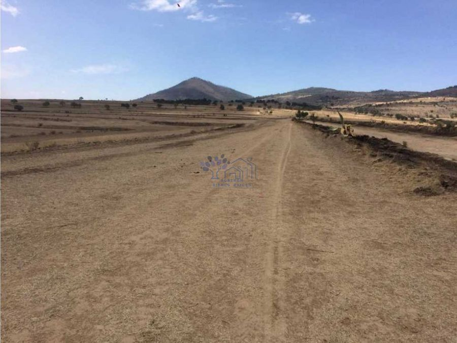 venta de terreno 21 hectareas en terrenate