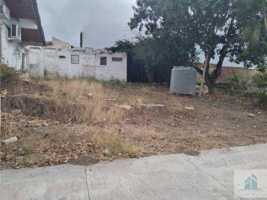 venta de terreno col san ignacio