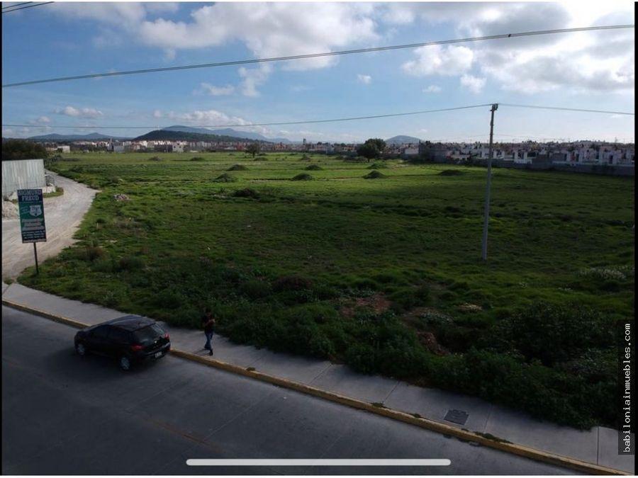 venta de terreno comercial en blvd las torres tizayuca hgo