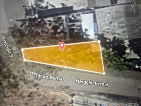 venta de terreno con construccion para demoler 211 m2 soler