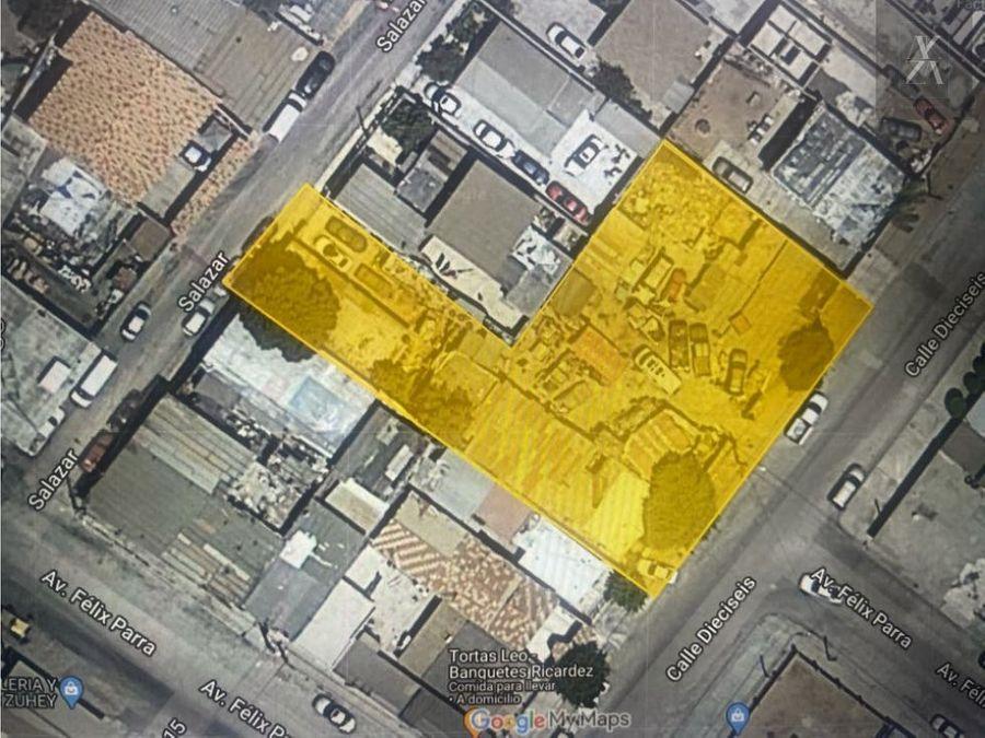 venta de terreno con construccion 1330 m2