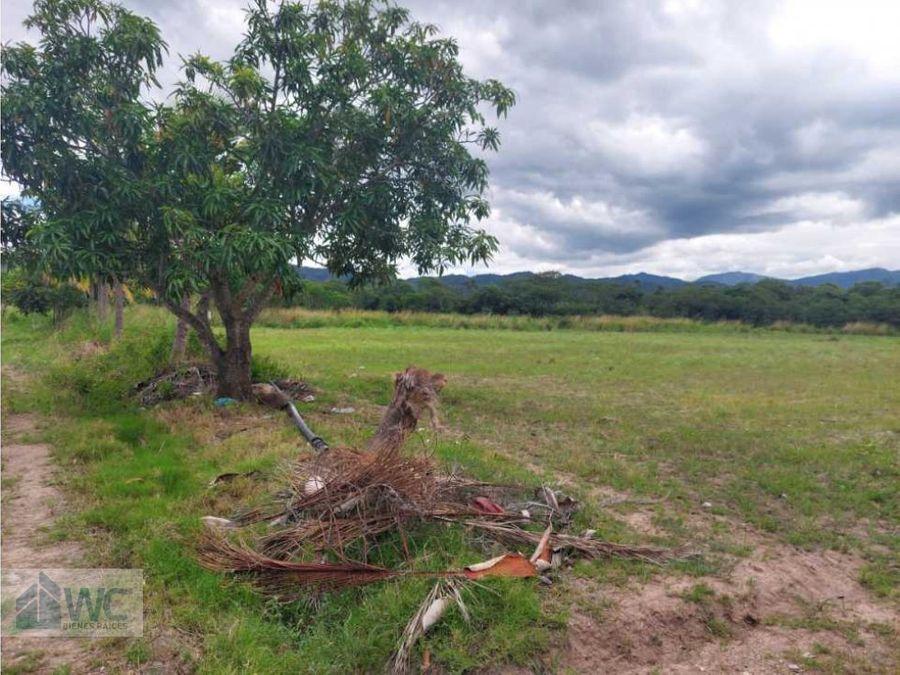 venta de terreno carretera antes del desvio a comayagua
