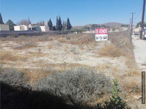venta de terreno al norte 840 mts 5460000