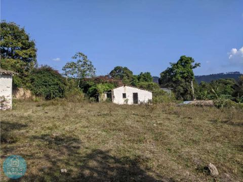 venta de terreno 4400 v2 valle de angeles aldea cerro grande