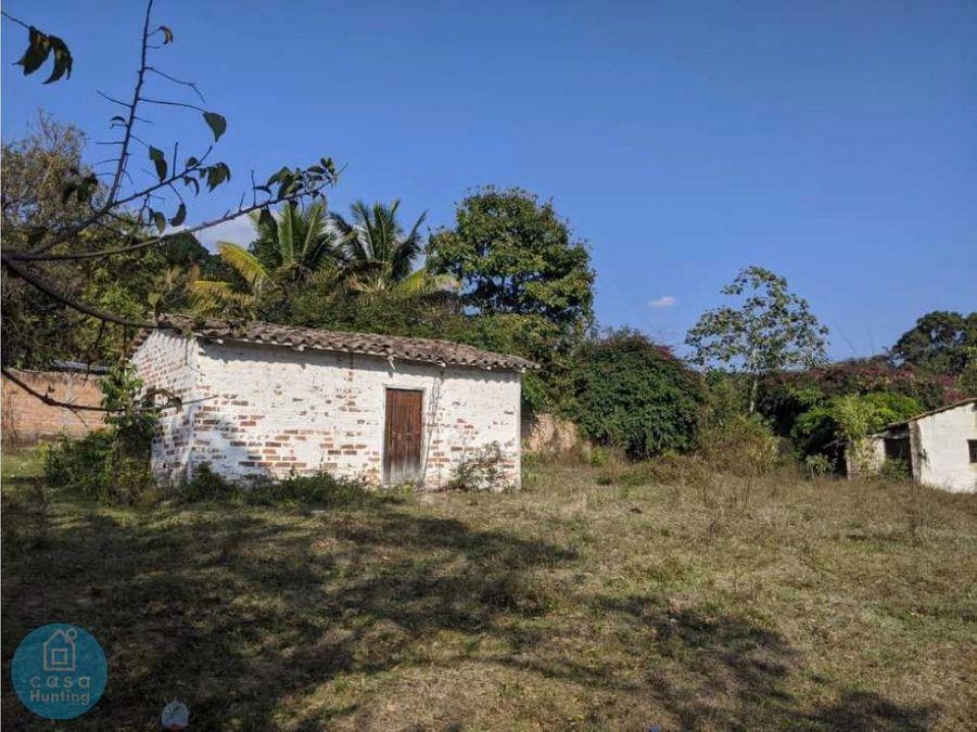 venta de terreno aldea cerro grande inversion