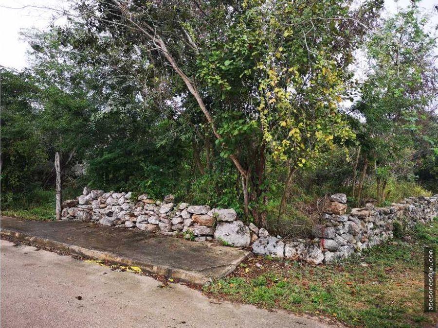 venta de terreno en chablekal