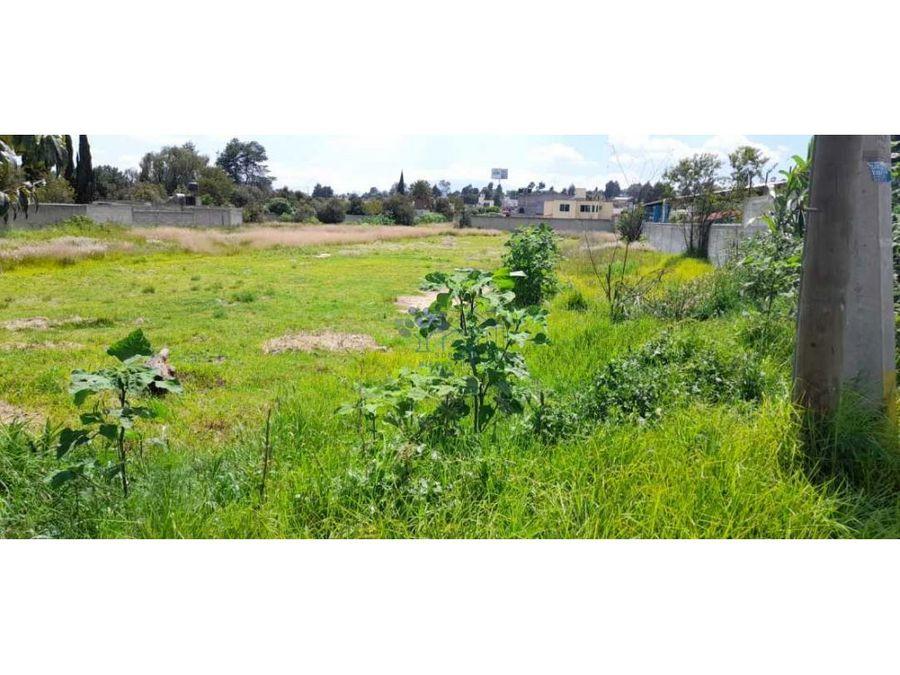 venta de terreno en acuiltapilco excelente ubicacion