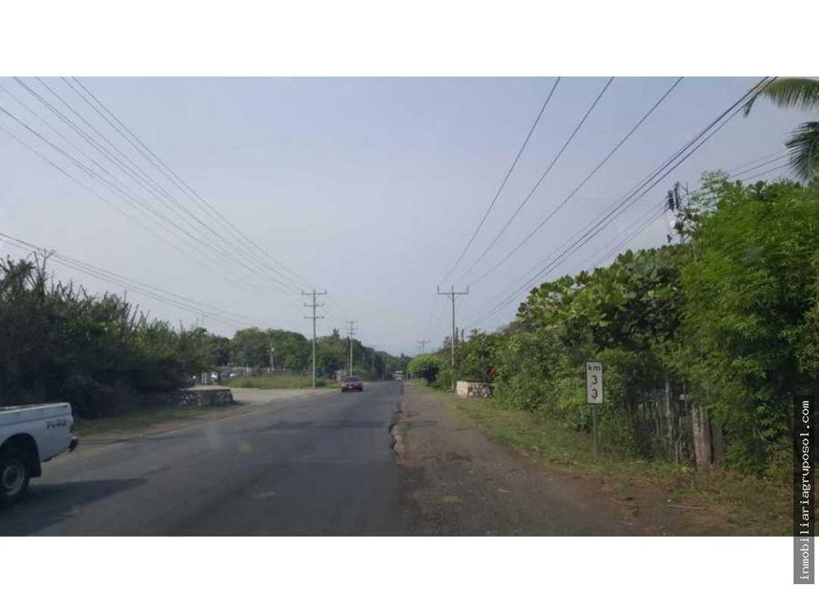 venta de terreno km 33 san juan opico