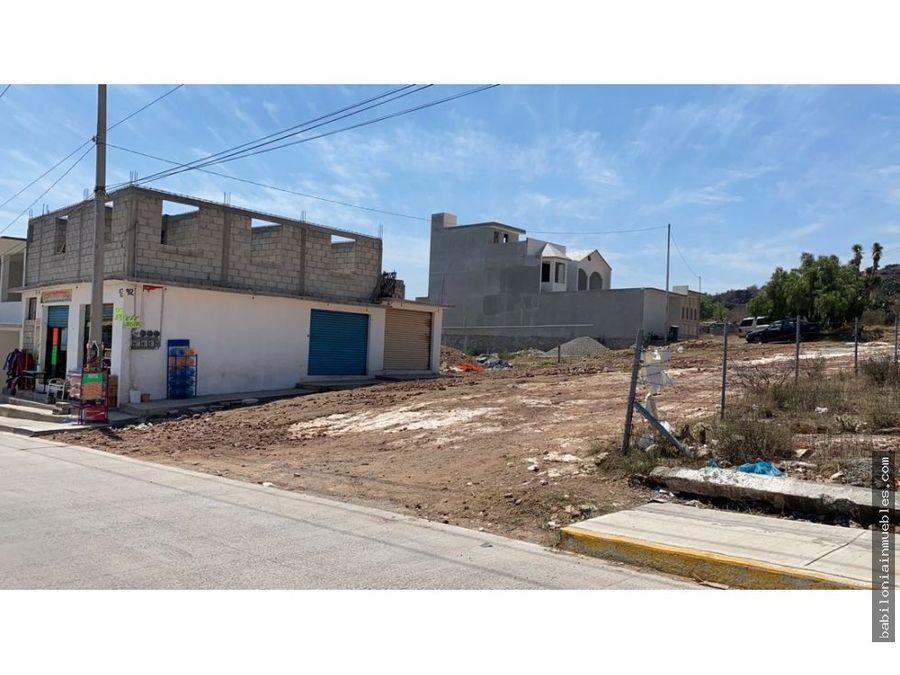 venta de terreno ideal para desarrollo habitacional santa matilde