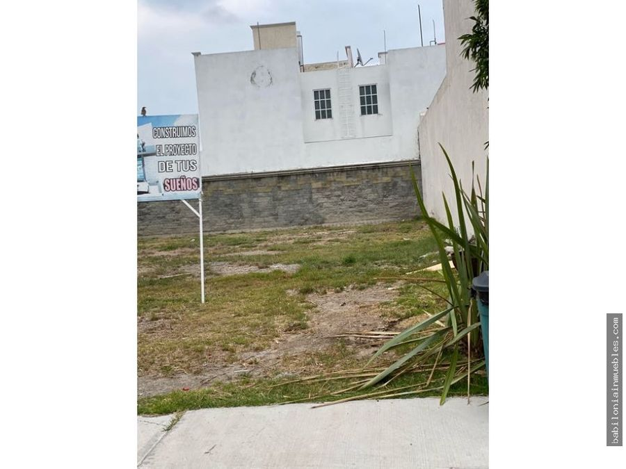venta de terreno residencial zona plateada mina ciciliana