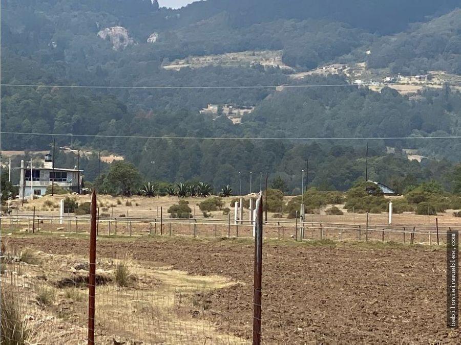 venta de terreno rustico en omitlan de juarez hgo
