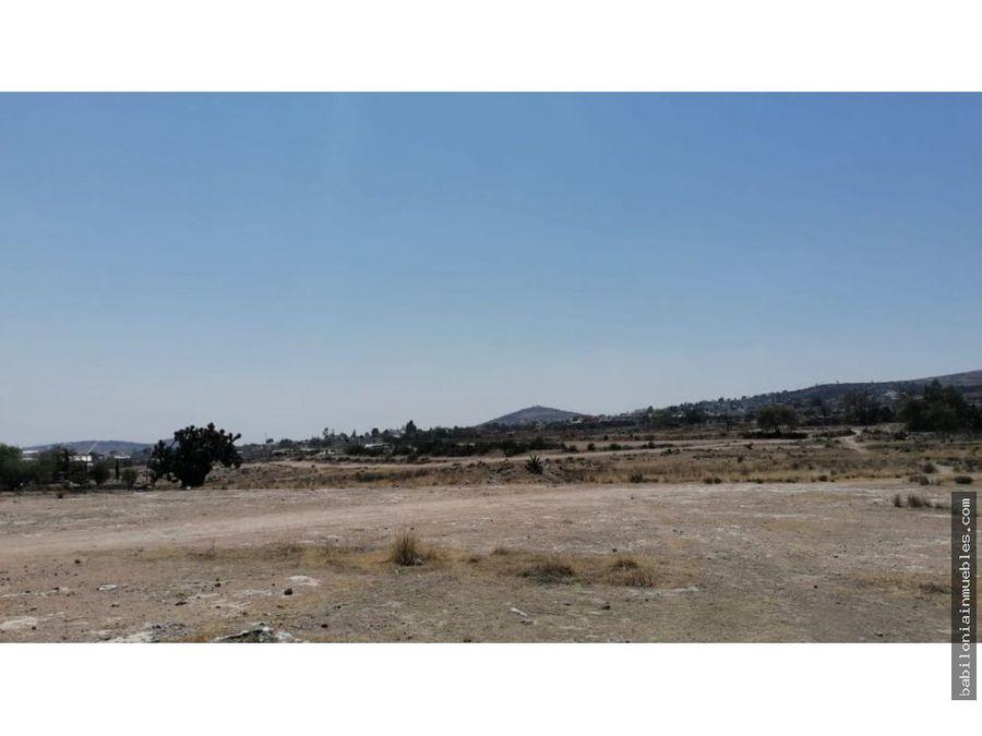venta de terreno rustico santiago tlapacoya 4 hec