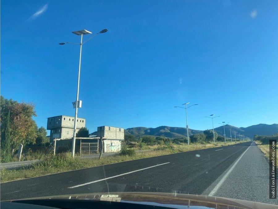 venta de terreno rustico sobre la carretera en actopan hgo