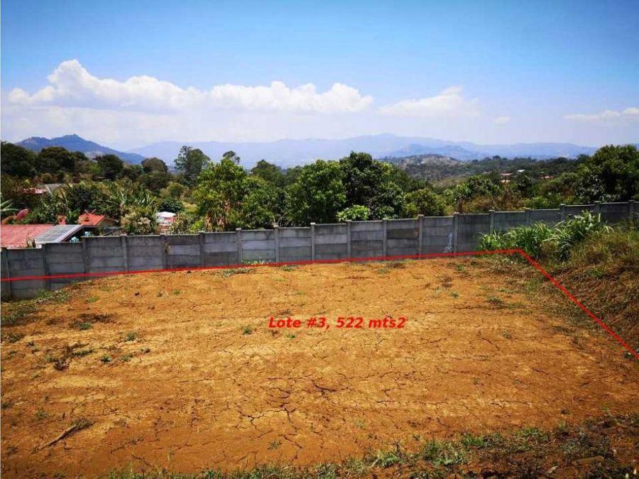venta de terrenos en san juan naranjo