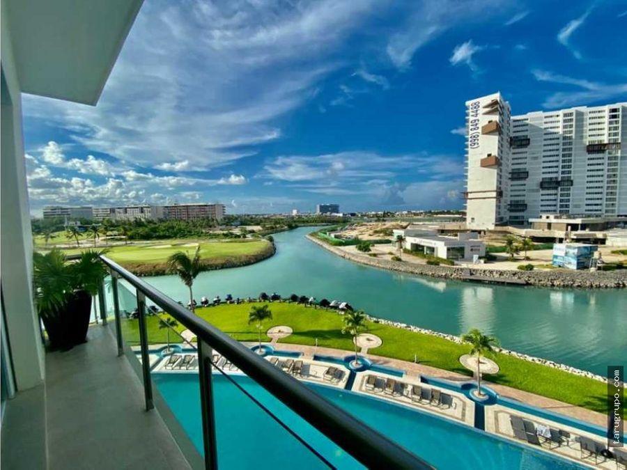 venta departamento 4 rec en puerto cancun