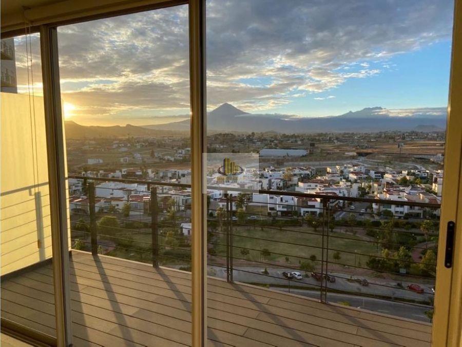 venta dos recamaras vista a los volcanes high towers residence