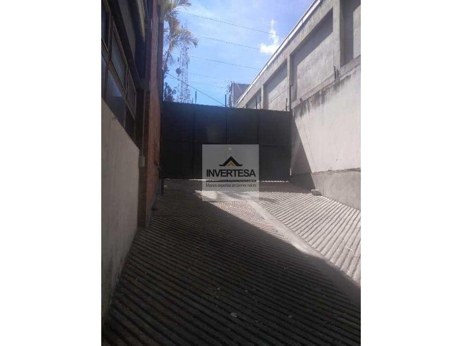 venta edificio en zona 11 sobre calzada aguilar batres
