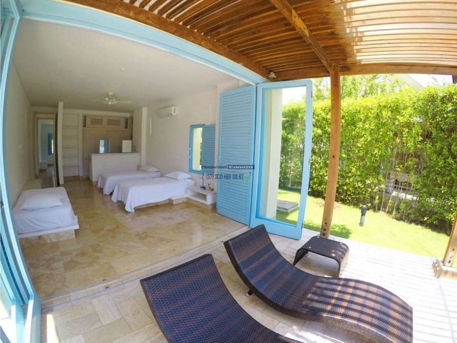 casa en isla de baru estancia del mar condominio en cartagena