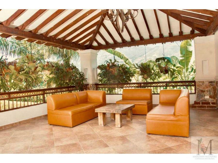 venta finca amoblada copacabana eventos y hotel
