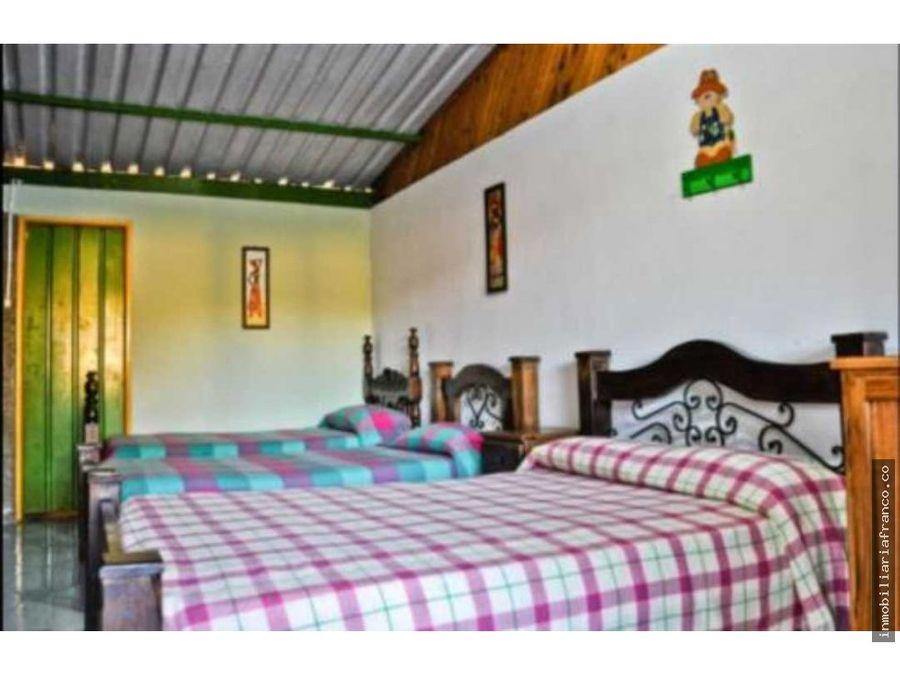 venta finca hotel via circasia montenegro