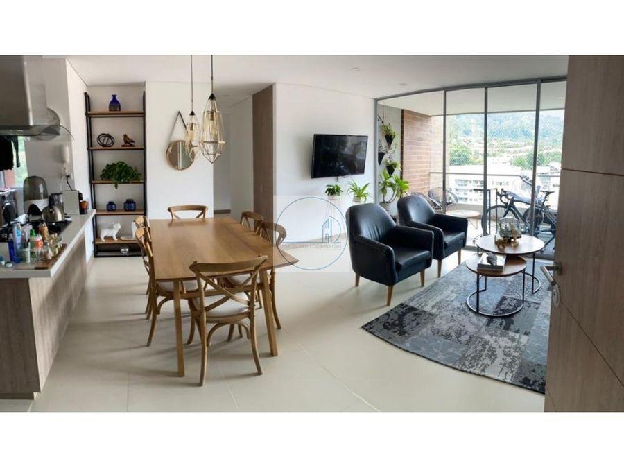 venta hermoso apartamento sector intermedia envigado